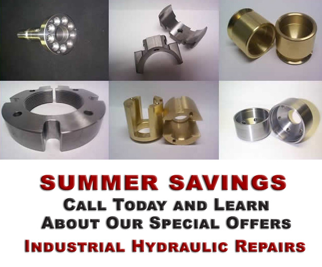 Save on hydraulic repairs today call for details
