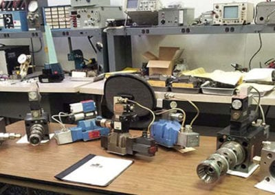 hydraulic-servo-valve-repair-Test-Lab-Bench