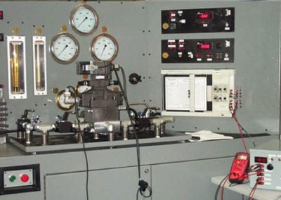 hydraulic-servo-valve-repair-Test-Stand-With-Instrumentation